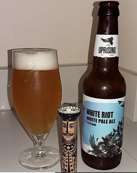 White Riot pale ale